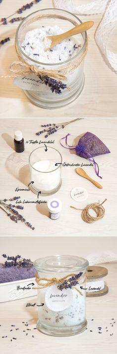 #diy #juwelkerze #upcycling #geschenkidee #geburtstag #lavendel Diy Craft Projects, Diy Crafts, Diy Bath Salts, Candle Decorations, Homemade Cosmetics, Pens, Lavender, Bathing, Repurpose