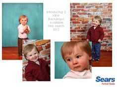 20 Best What's new at Sears Portrait Studios images in 2012