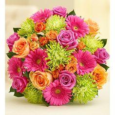 Vibrant Blooms Bouquet - Double Bouquet Only