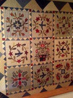 My favorite quilt - pattern by Blackbird Designs.
