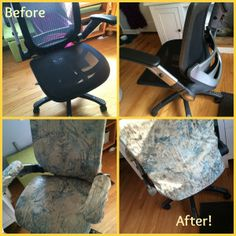 Desk Chair Diy Art Deco Chairs 26 Best Office Slip Cover Images Slipcovers For