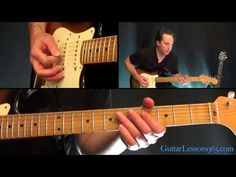 Bruce Springsteen - I'm On Fire Guitar Lesson - YouTube