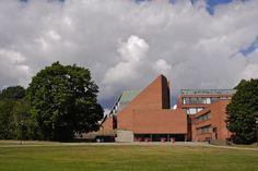 Otaniemi University Auditorium by Alvar Aalto |