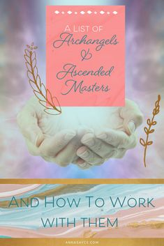 List Of Archangels, Intuitive Healing, Ascended Masters, Spirit Guides, Healer, Intuition, Finding Yourself, Anna, Spirituality