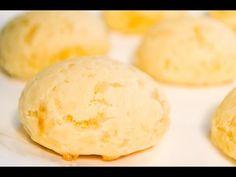 Receta de Pan de Queso o Chipa - YouTube Pollo Thai, Pan Integral, Relleno, Hamburger, Appetizers, Cheese, Youtube, Recipes, Food