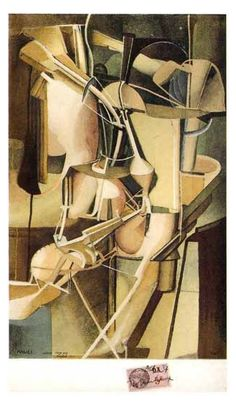 Artwork by Marcel Duchamp, Marie, Made of Other