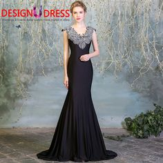 Find More Evening Dresses Information about Design U Dress 2017  Black Satin Beaded Long Backless Vintage Arabian Evening Prom Dress vestidos de formatura,High Quality dress stockings,China dress kawaii Suppliers, Cheap dress southern from Rainbow Wedding Store on Aliexpress.com