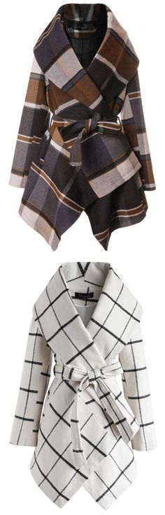 Love these coats - perfect for a colder day.