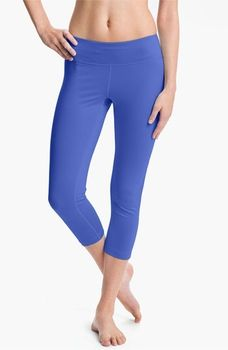 Zella 'Streamline' Capris Womens Blue Persia Size Large Large in January 2013 Get Active from Nordstrom on shop.CatalogSpree.com, my personal digital mall.