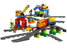 Take the rocks down the track with the Deluxe Train Set!