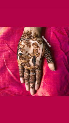 Floral Henna Designs, Indian Mehndi Designs, Mehndi Images, Baby Mehndi Design, Mendi Design, Henna Patterns, Mehendi, Stylish Outfits, Hand Weaving
