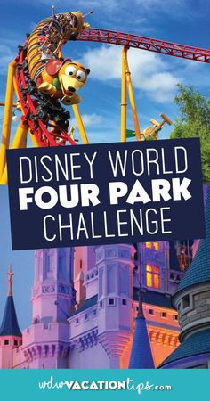 All throughout the Disney community, the 4 Park Challenge has begun to surface. What is this? The 4 park challenge is when someone successfully conquers all four main Walt Disney World parks in one day. This challenge seems exhausting and difficult, but with the right guidance and knowledge it is easy. #wdw #disneyworld