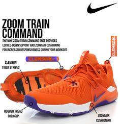 67595834c15e The Nike Zoom Train Command shoe provides locked-down support and zoom air  cushioning for