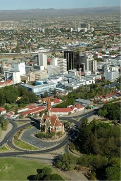 Backpacking Namibia you always begin & end in the German influenced town of Windhoek, Namibia
