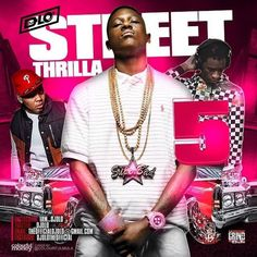 """DJ D-Lo is back with another edition to the """"Street Thrilla"""" mixtape franchise.  The 5th volume drops music from Big Kuntry King, Lil Bibby, Nicki Minaj, Young Scooter, Big Sean, Lucci, Skooly, Young Thug, Kevin Gates, and many more."""