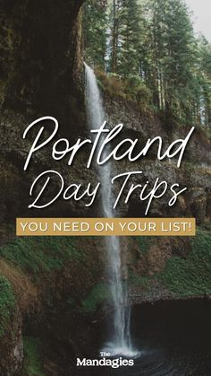 Discover the best day trips from Portland, Oregon in this unique guide to the PNW! We're sharing Portland day trips to the Oregon coast, Mount Hood, Columbia River Gorge, Cascade Mountains and more! | Portland Oregon Day Trips #portland #oregon #oregoncoast #portlanditinerary #PortlandOR #mthood #cascademountains #columbiarivergorge #PNW #pacificnorthwest Pacific City, Pacific Northwest, Usa Travel Guide, Travel Usa, Oregon Waterfalls, Mount Hood, Cascade Mountains, Columbia River Gorge, Cannon Beach