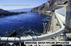 Water Pipeline Application #waterpipeline #application #industrialsupplies
