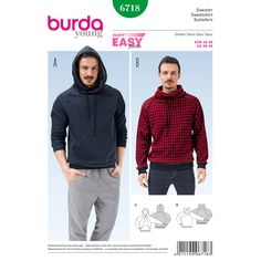 Sweater, Burda 6718