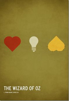 brilliant graphic design of classic children's stories Minimalista Disney, Poster Minimalista, Minimal Movie Posters, Minimal Poster, Book Posters, Alternative Movie Posters, Kid Movies, Children Movies, Wizard Of Oz