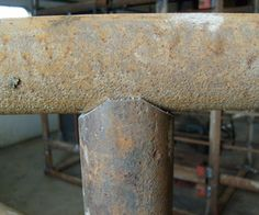 Making Perfect Pipe Saddle Cuts With a Bandsaw or Chopsaw 2019 Making perfect pipe Saddle cuts with a bandsaw or chopsaw The post Making Perfect Pipe Saddle Cuts With a Bandsaw or Chopsaw 2019 appeared first on Metal Diy. Shielded Metal Arc Welding, Metal Welding, Welding Art, Welding Design, Welding Shop, Welding Classes, Welding Jobs, Metal Projects, Welding Projects