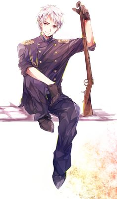 Day 4 of the 30 Day HETALIA Challenge- Character you'd like to go shopping with. PRUSSIA BECAUSE HE'S AWESOME.