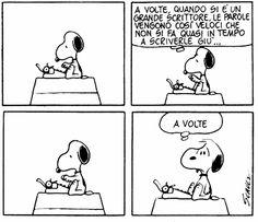 Il blocco dello scrittore. #peanuts #snoopy #writer #scrittore