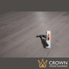 14 x 189mm 'Slate' Matt Lacquered Oak Engineered Wood Flooring - Crown