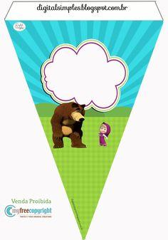 Para personalizar, imprimir y disfrutar de un cumple o baby shower temático! Para descargarlo completo ingresá el siguiente enlace: Ki...