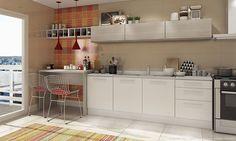 Cozinha modulada e completa!