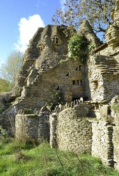'I got a bit carried away': Sheep farmer spent 11 years building elaborate Hobbit House by hand - then abandoned it when a new quarry disturbed his peace