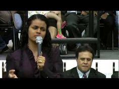 Damares Testemunho Emocionante na A.D.Belém Campinas (DVD) parte 1