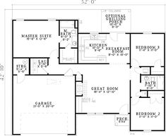 See the Zimmerman Ranch Home that has 3 bedrooms and 2 full baths from House Plans and More. See amenities for Plan Ranch House Plans, Best House Plans, Small House Plans, House Floor Plans, Built In Media Center, Electrical Layout, European House Plans, Traditional House Plans, Traditional Design