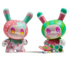 Kidrobot Designer Toy Awards Dunny Series The Bots 03 Worldwide Free S//H