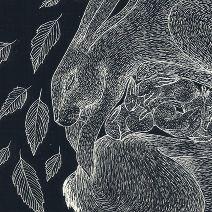Hare family - Catherine Rowe Illustration