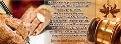 Looking for a life partner? SIGN UP FREE TODAY on Nikah halal!  www.nikahhalal.com  Choose your life partner the halal way, search your prefrences and get results accordingly In shaa ALLAH may ALLAH help you in finding your perfect partner here.  sign up, verify your account from your email (check spam too), login into nikah halal and start the search!