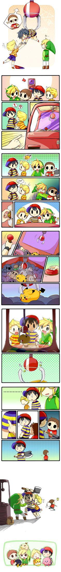 Super Smash Bros: