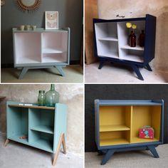 Bibliothèque pour chambre enfant  Fabrication française BY banaborose  À vous de choisir vos couleurs !