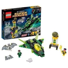 LEGO Super Heroes Green Lantern and Space Batman vs. Sinestro, Ultra-Fast Construct Spaceship, 174 Pieces * See this great product.