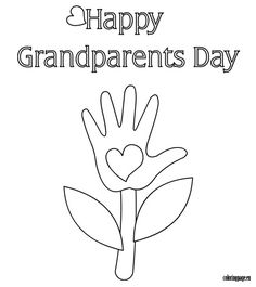 1000 images about grandparent 39 s day on pinterest happy for Grandparents day coloring pages for kids