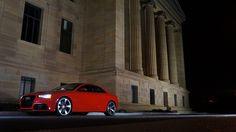 Audi in Red...
