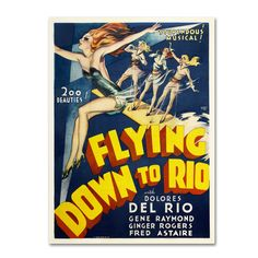 Vintage Apple Collection 'Flying Down to Rio' Art