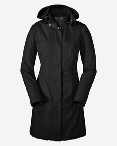 Women's Girl On The Go Insulated Trench Coat | Eddie Bauer Nice because you can remove the insulated part and use it as a raincoat when it's warmer out.