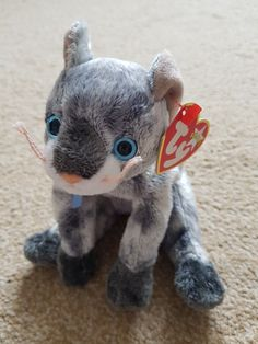 3 Ty Beanie Babies Cats Kittens Frisco Pounce Tangles  3dcc69908719