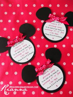 My little girl's 2nd birthday is coming up and I'm planning a Minnie Mouse Party, but hoping to do as much of it myself and avoid the comme...