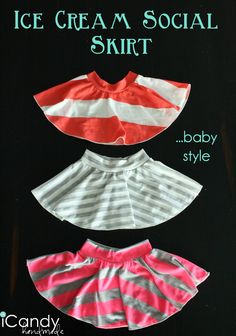 (tutorial) Ice Cream Social Skirt...baby style
