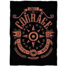 Digital Courage - Fleece Blanket