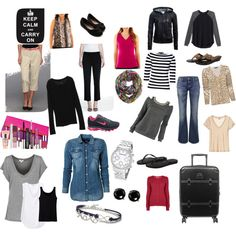 Packing Light for long trips: ❤️ Wear one outfit on travel day & pack the rest in a carry on.