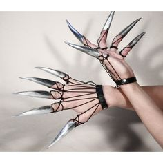 Metal claws METAL CLAWS ❤ liked on Polyvore featuring accessories and photos