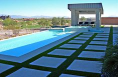What about for the strip extending from the carport along the pool