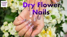 Dry Flower Pastell Nail Art by GDN.de - Nr. 224 #jolifin #nageldesign #uvgel http://www.german-dream-nails.com  Frühlingshafte Blüten-Designs verleihen jeder Nagelmodellage einen verträumten Look. Wir zeigen Euch daher wie m an mit echten Blüten kleine Highlights zaubern kann und so ein Design zaubert, das sich sehen lassen kann. Dry Flowers sind beliebte Nailart Einleger, die eine imposante Wirkung haben und als Untergrund oder als Hauptnailart eingesetzt werden können.